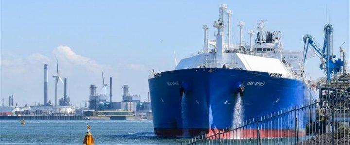 Świnoujście. Do Polski płynie pierwsza dostawa LNG z USA
