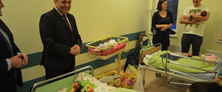 Pola i Maja – pierwsze w tym roku narodziny w naszym szpitalu
