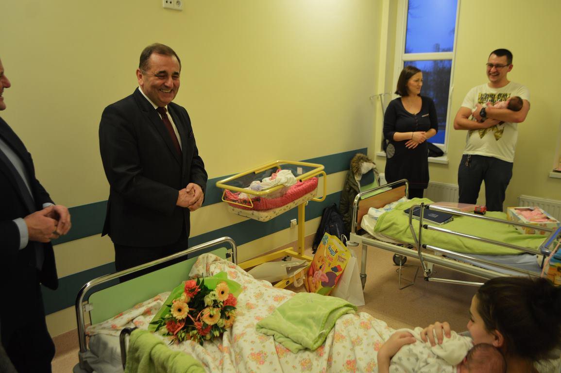 Pierwsze w tym roku narodziny w naszym szpitalu