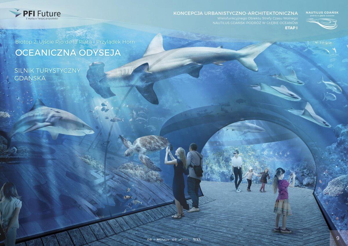 Nautilus Gdańsk. Zajrzyj na plac budowy największego oceanarium w kraju (foto, wideo)