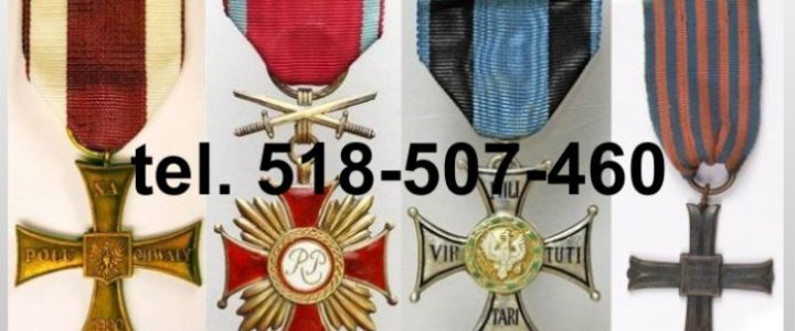 Kupię stare medale i pamiątki wojskowe