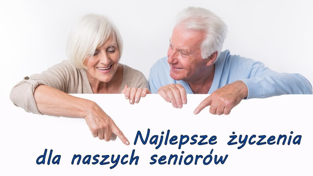 Życzenia z okazji Dnia Seniora.