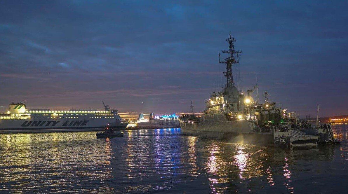Świnoujście. Operacja osłony transportu morskiego rozpoczęta