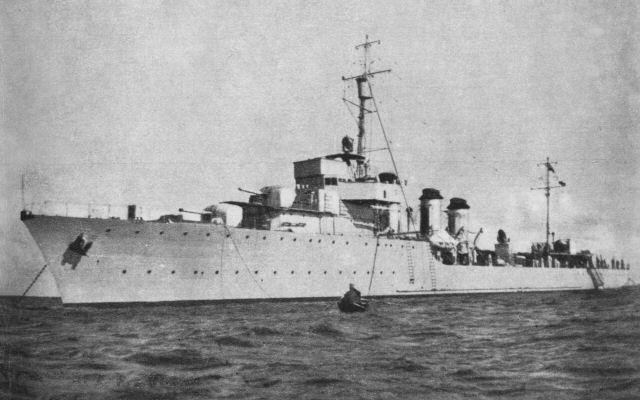 90 lat temu zwodowano pierwszy wielki okręt małej floty – ORP Wicher