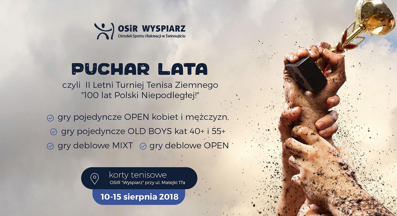 """Świnoujście. II Letni Turniej Tenisa Ziemnego """"100 lat Polski Niepodległej"""" – wyniki"""