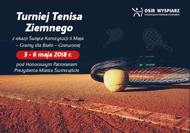 Świnoujście. Turniej Tenisa Ziemnego z okazji Święta Konstytucji 3 Maja