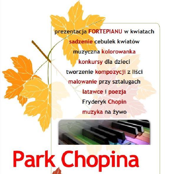 Świnoujście. Park Chopina muzyczny i kolorowy