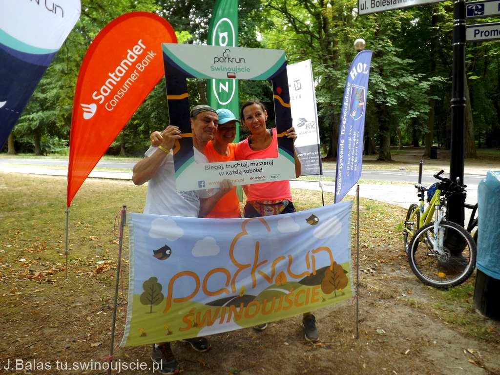 Świnoujście. Poranni biegacze ponownie spotkali się w Parku Zdrojowym (fotogaleria)