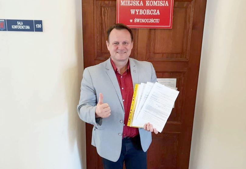 Świnoujście. Prezydent Janusz Żmurkiewicz wystartuje z własnego komitetu wyborczego