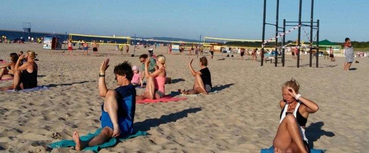bezpłatne zajęcia na plaży