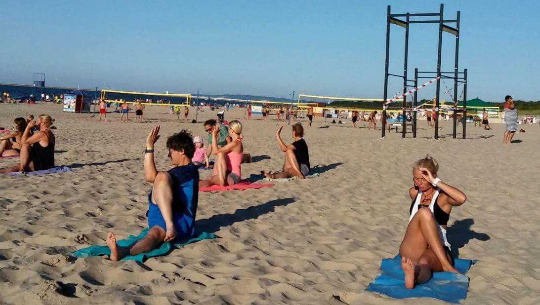 Świnoujście. bezpłatne zajęcia na plaży