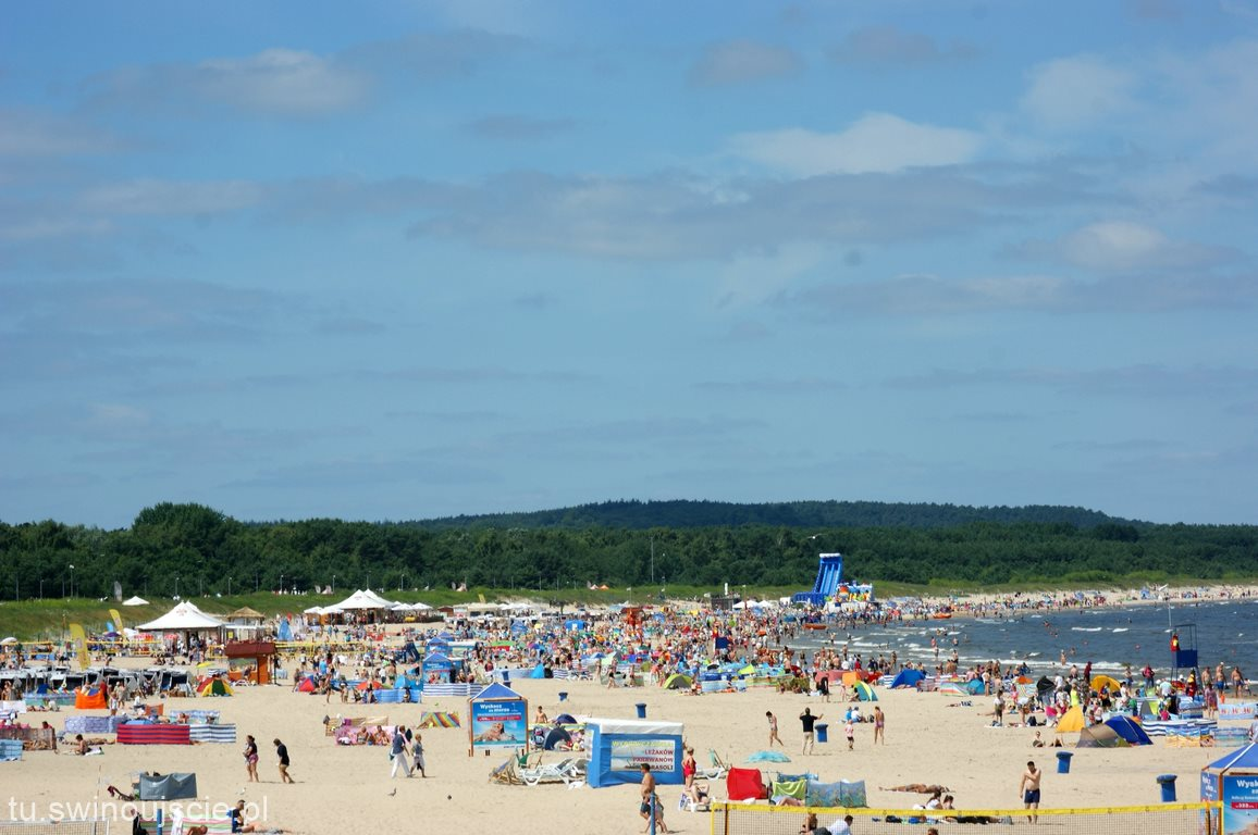 Świnoujście wśród 25 najatrakcyjniejszych morskich plaż