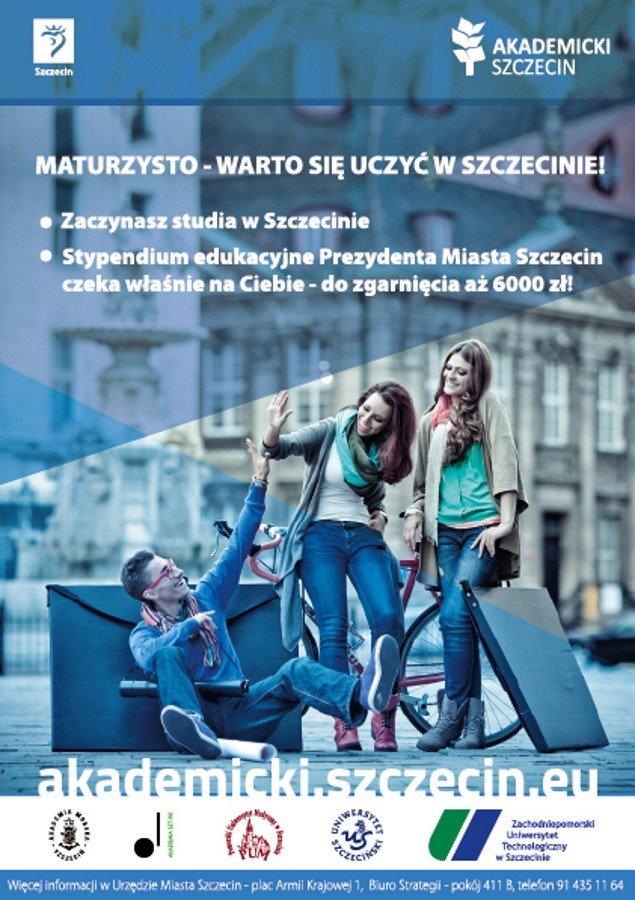 Stypendia czekają na naszych przyszłych studentów Akademii Morskiej w Szczecinie