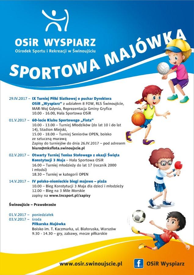 Program imprez majowych organizowanych przez OSiR