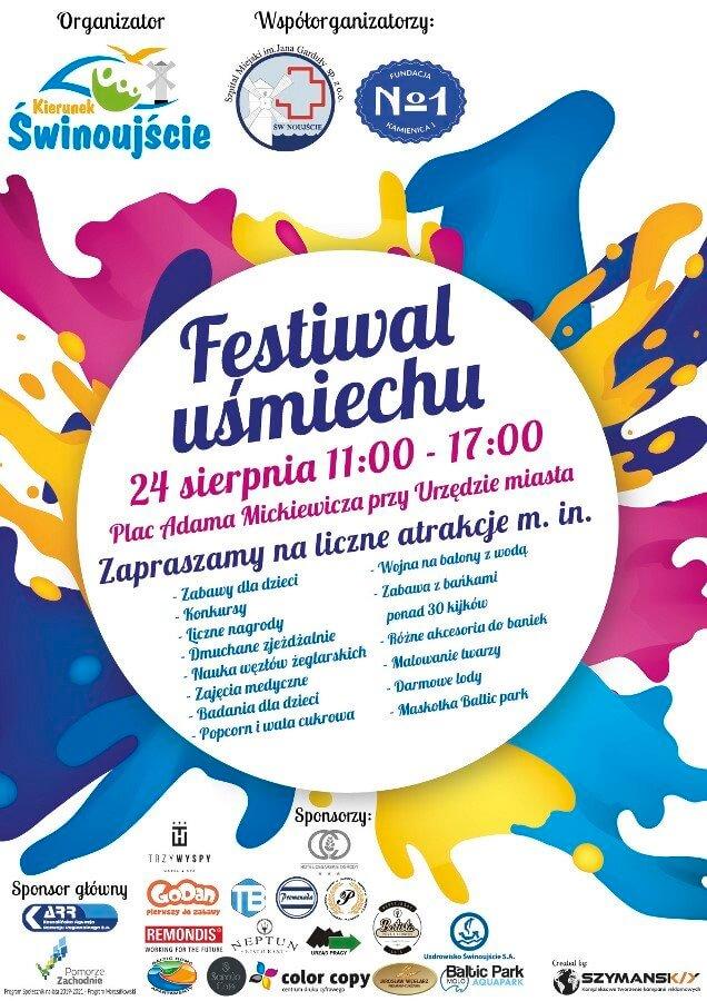 Świnoujście. Festiwal Uśmiechu edycja 2 - już w najbliższą sobotę.