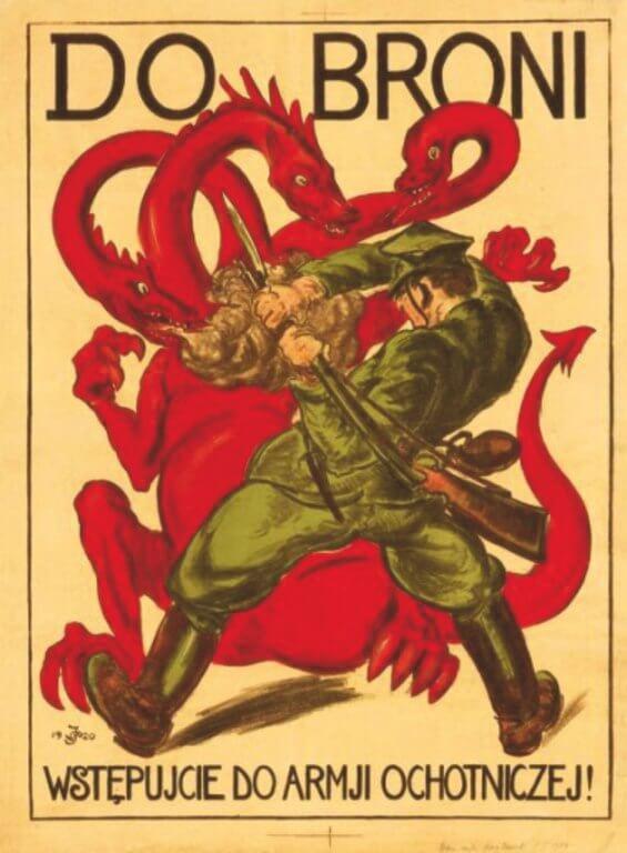 Wystawa czasowa: Polsko-bolszewicka wojna na plakaty