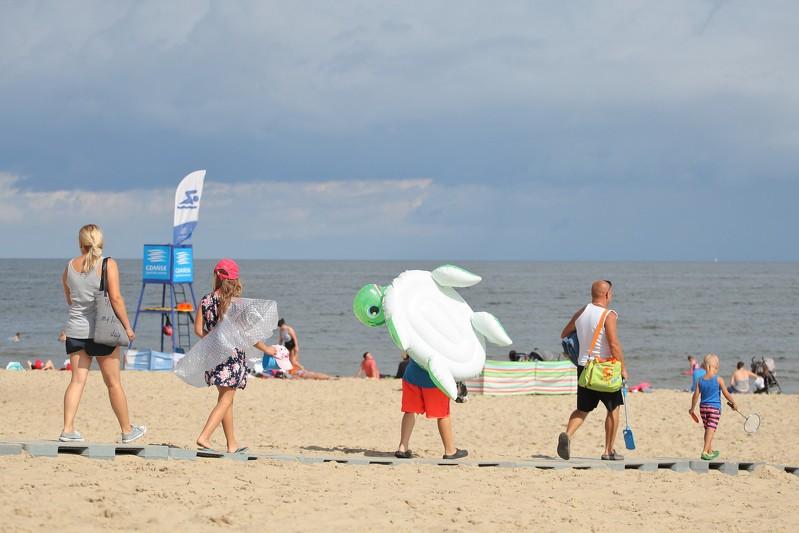 Zakaz kąpieli przy 15 nadmorskich plażach
