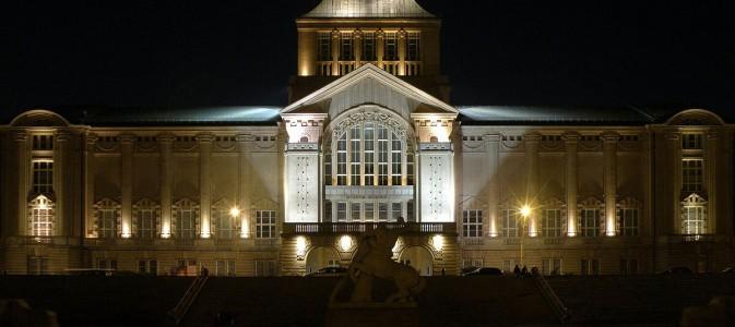 Świetlista poezja w ramach Europejskiej Nocy Muzeów