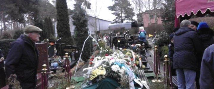 Świnoujście. MKS Flota. Pożegnanie Mieczysława Szymańskiego.