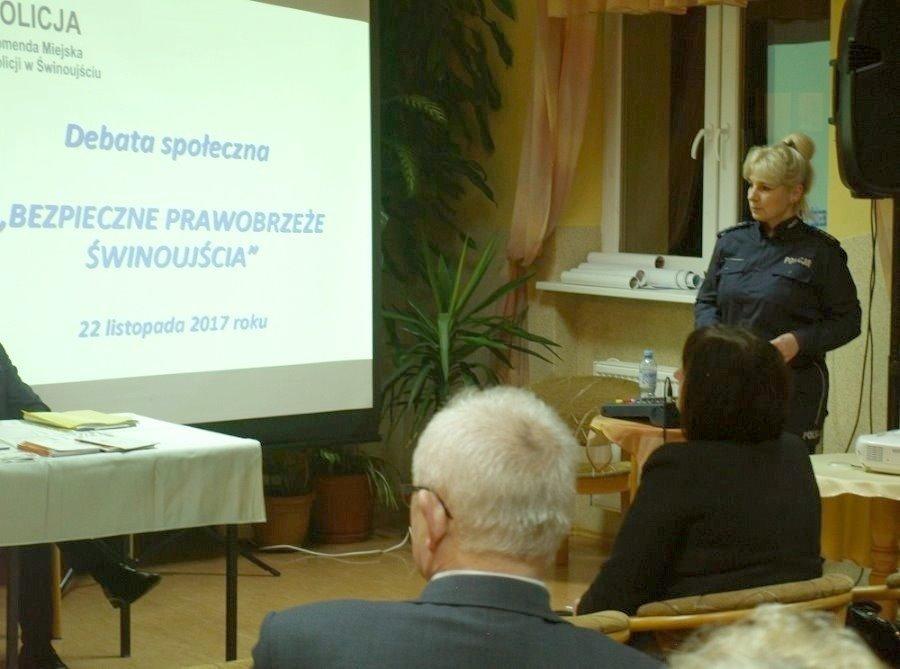 Debata o bezpieczeństwie na posterunku Świnoujście-Warszów