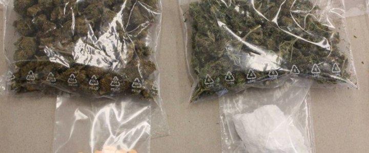 Kryminalni zabezpieczyli marihuanę, amfetaminę i tabletki ekstazy