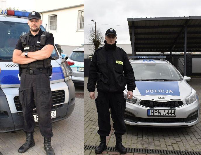 Policjanci z Gryfic zapobiegli próbie samobójczej