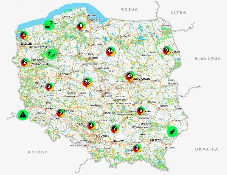 Krajowa mapa zagrożeń jest skuteczna