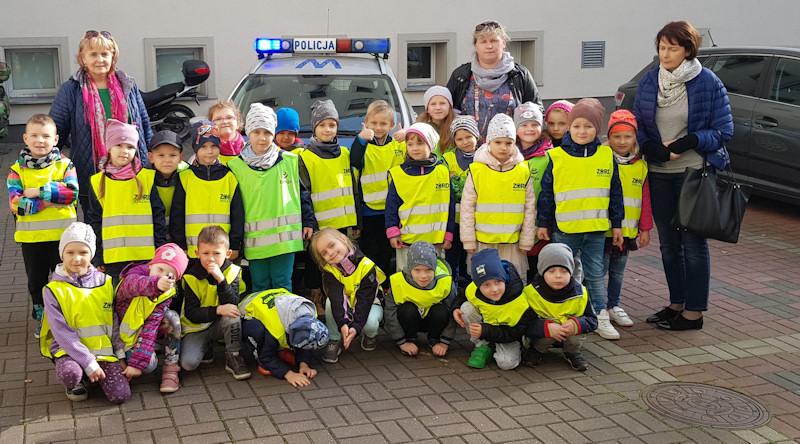 Przedszkolaki z wizytą w koszalińskiej komendzie