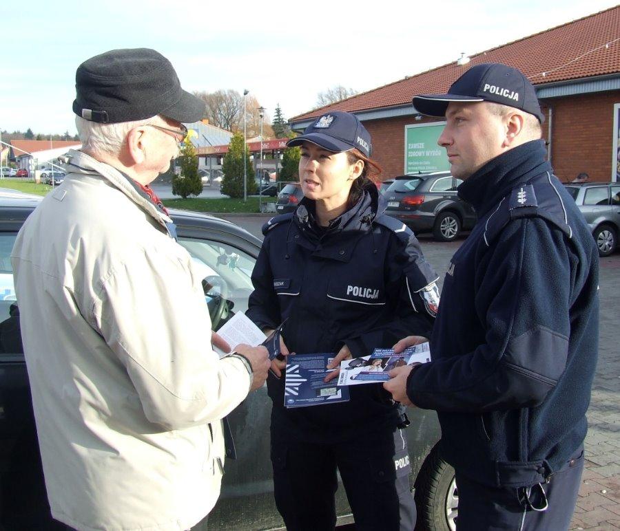 Działania policjantów w miejscach wskazanych na mapie zagrożeń