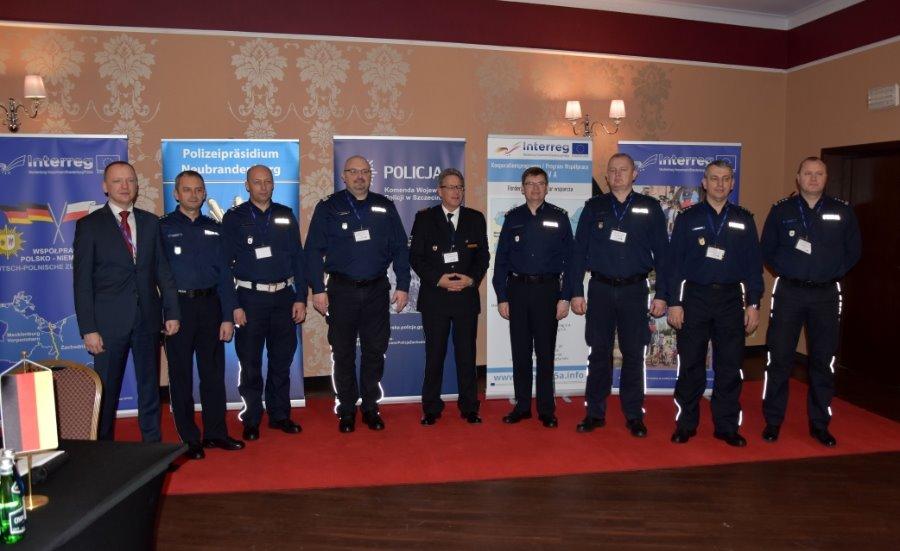 Międzyzdroje. Polsko – niemiecka współpraca na rzecz bezpieczeństwa