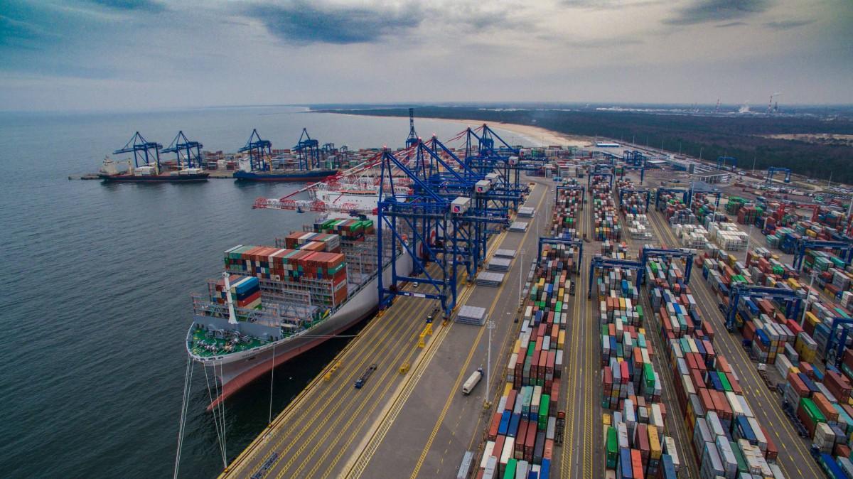 Port Gdańsk z rekordem przeładunków
