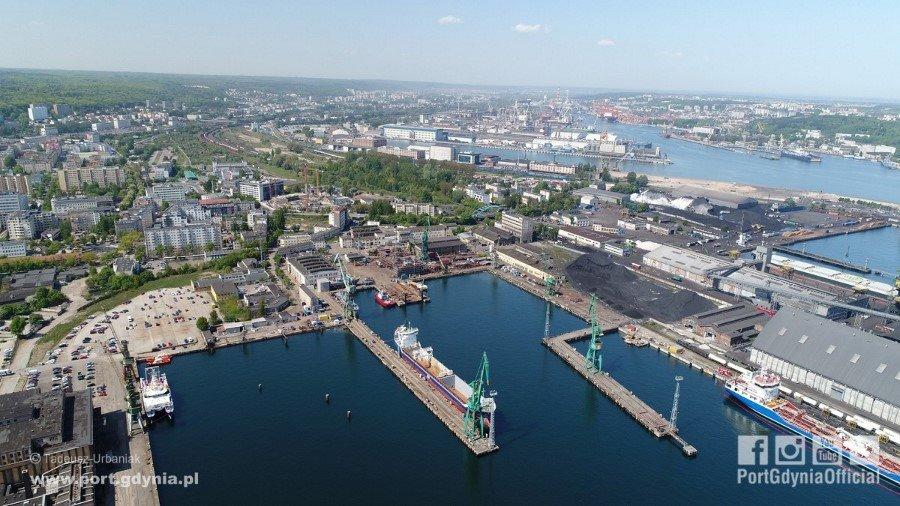 Port Gdynia nabył grunt od Stoczni Remontowej Nauta