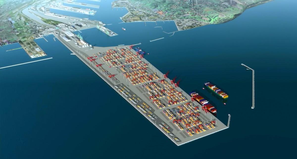 Port Zewnętrzny – klucz do sukcesu Portu Gdynia (wizualizacja)