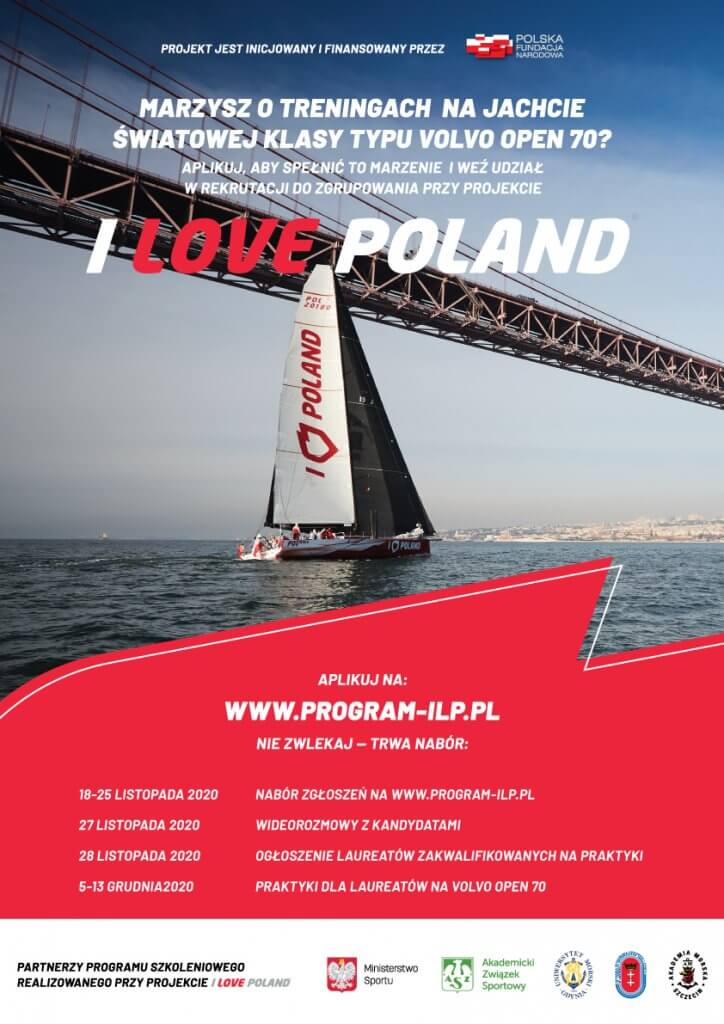 Akademia Morska w Szczecinie. Program szkoleniowy I Love Poland - nabór do drugiej edycji.