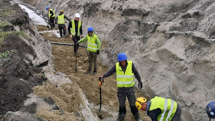 Świnoujście buduje tunel. Chińczycy demontują ogromną maszynę.
