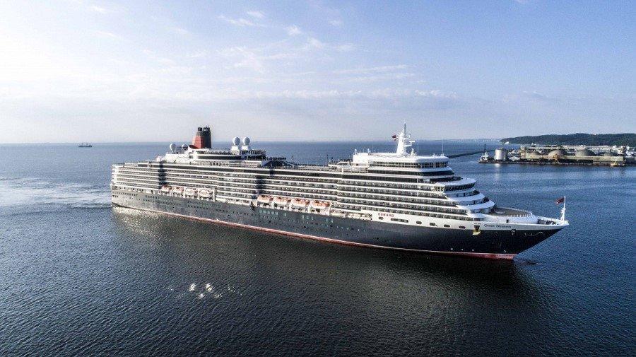 Królowa sezonu wycieczkowców już w Porcie Gdynia (fotogaleria)