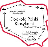 Rajd Klasykami Dookoła Polski na 100-lecie Niepodległości