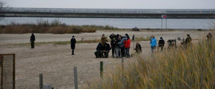Canal+ kręci serial na plaży w Świnoujściu.