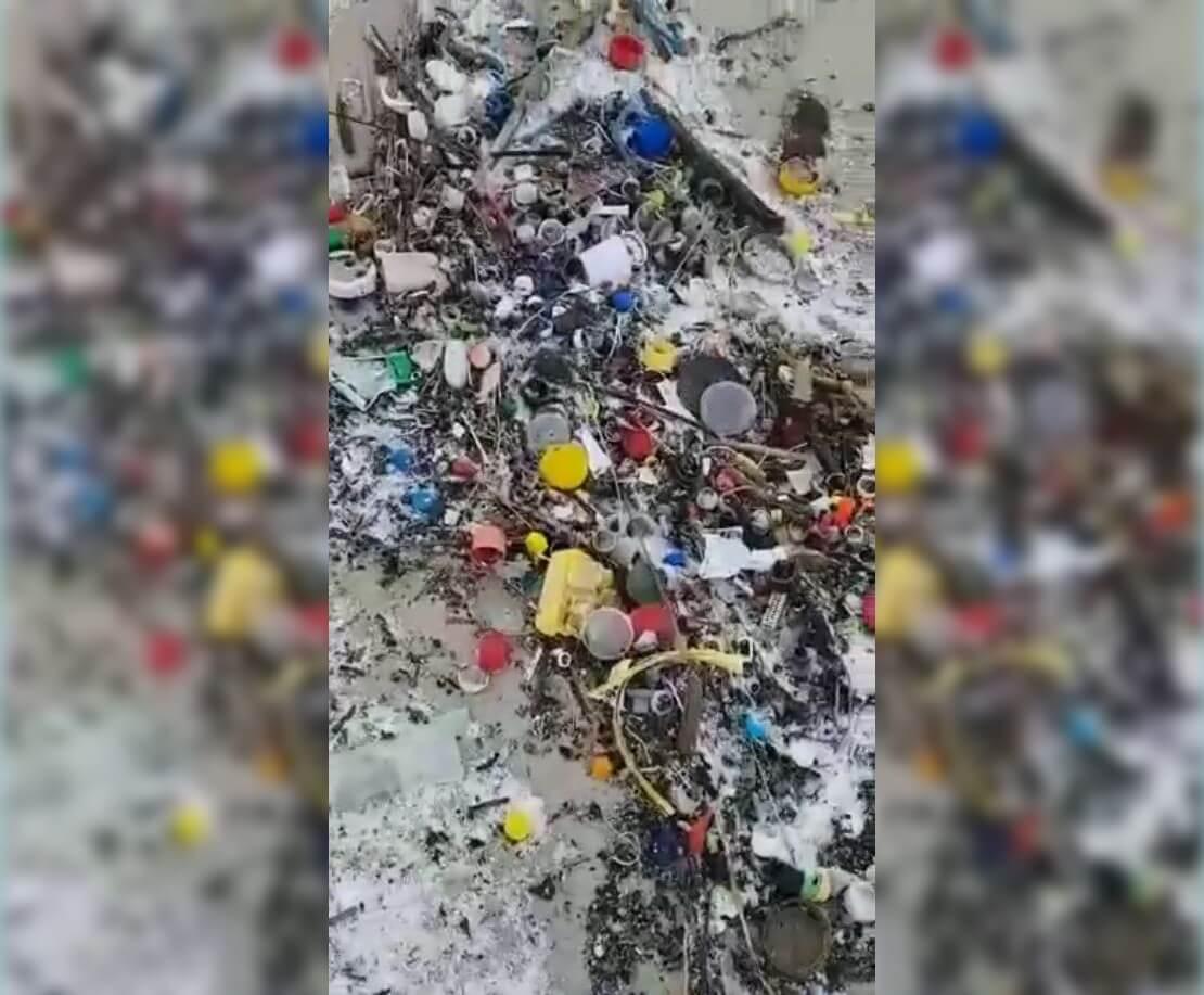 Zobacz, ile śmieci pływa w Bałtyku