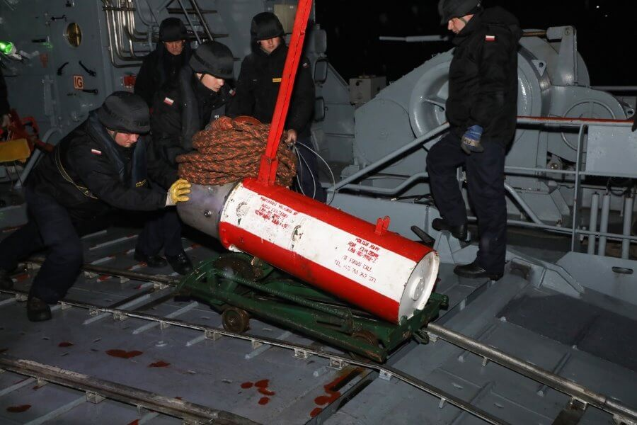 Świnoujście. Morskie szkolenie sił 8. Flotylli Obrony Wybrzeża.