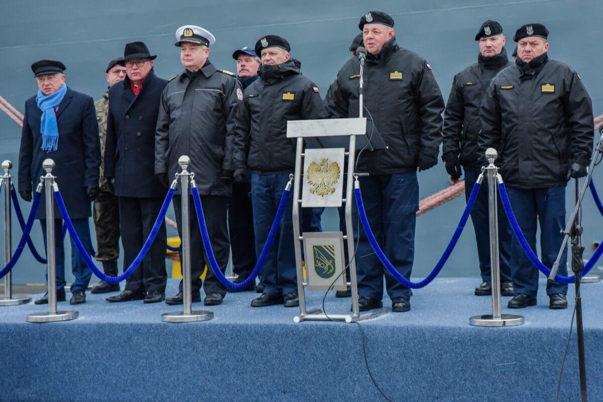 Noworoczne rozprowadzenie do zajęć w 3. Flotylli Okrętów