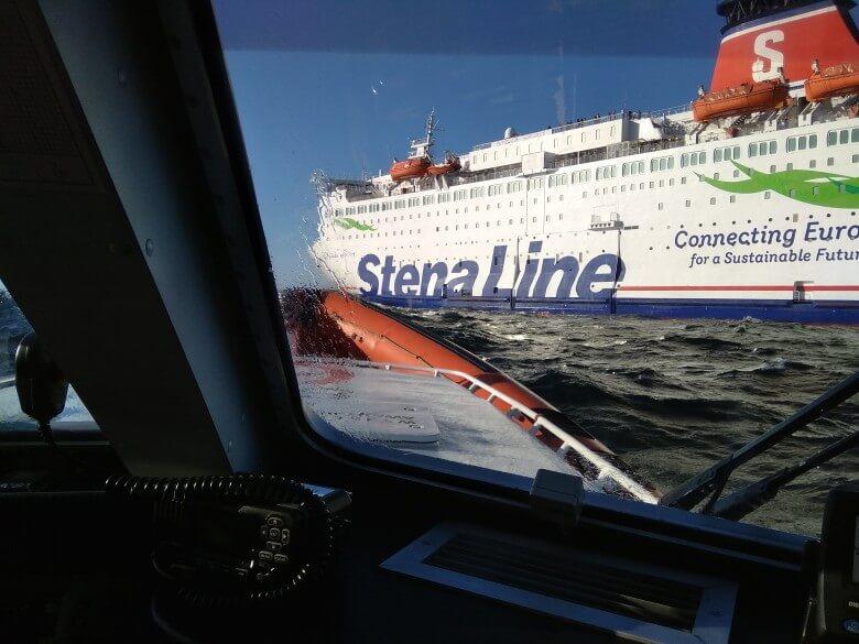 Akcja ratunkowa na Bałtyku. Mężczyzna wypadł z promu