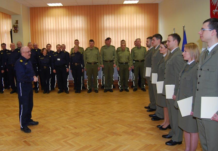 Nowi kaprale w Morskim Oddziale Straży Granicznej