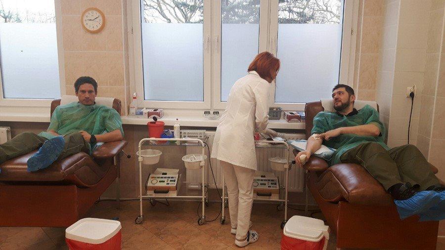 Honorowo oddali krew w Kołobrzegu