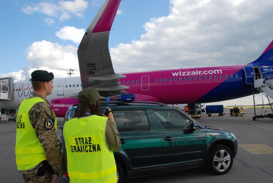 Interwencje w samolotach