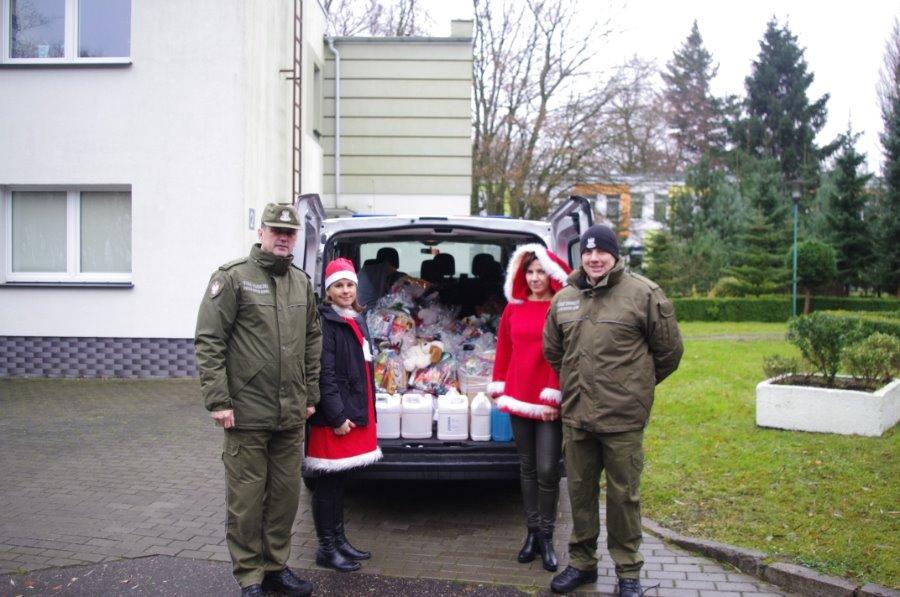 Mikołaje w mundurach SG zawitały w Koszalinie