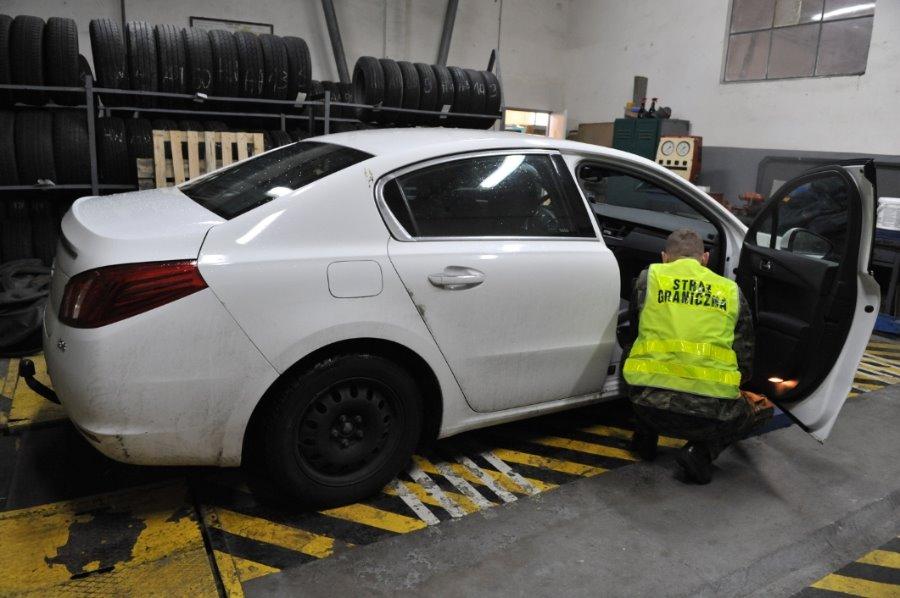 Peugeot, quad i silniki zatrzymane w Świnoujściu