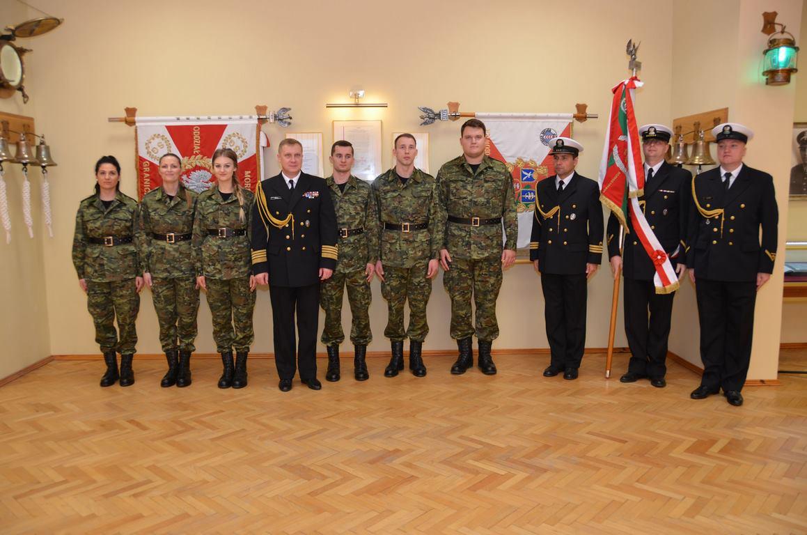 Nowi funkcjonariusze w Morskim Oddziale SG