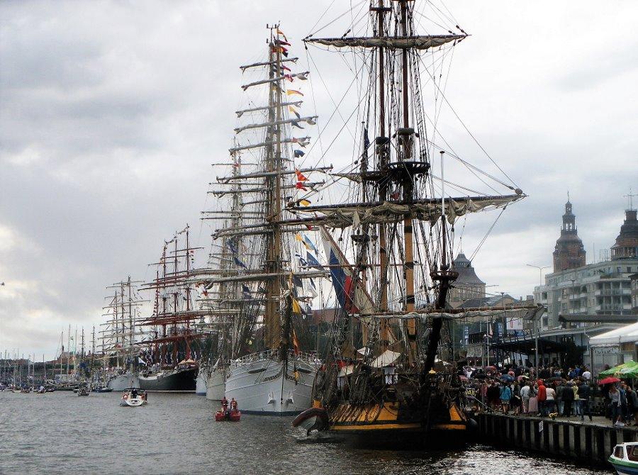 Straż Graniczna w zapewnieniu bezpieczeństwa Tall Ship Races
