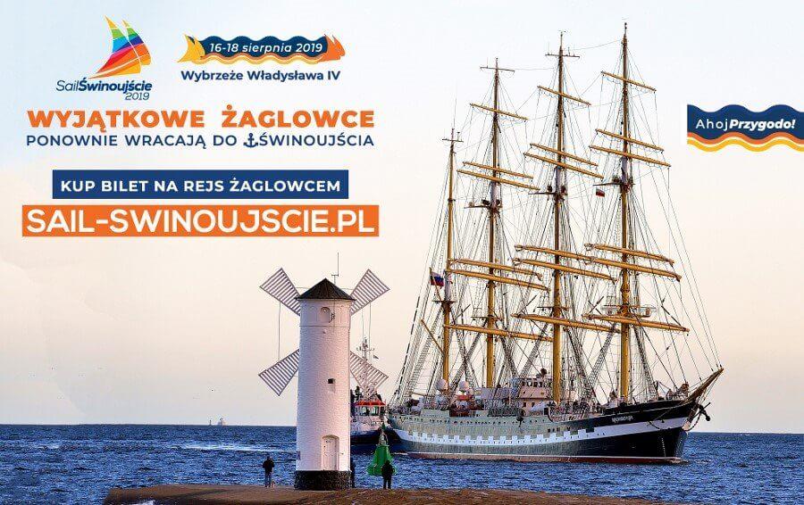 Sail Świnoujście 2019, czyli zamień urlop w żeglarską przygodę